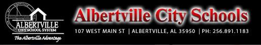 Albertville City Schools logo