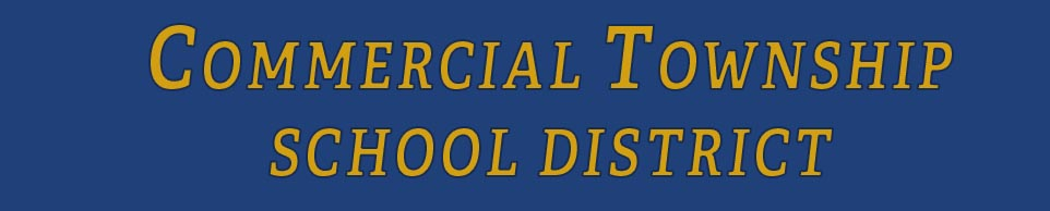 Commercial Township School District logo