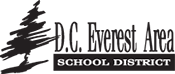 D.C. Everest Area School District  logo