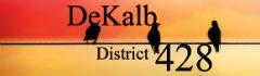 DeKalb Community Unit School District 428 logo