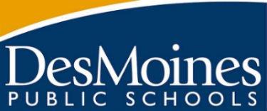 Des Moines Public Schools logo