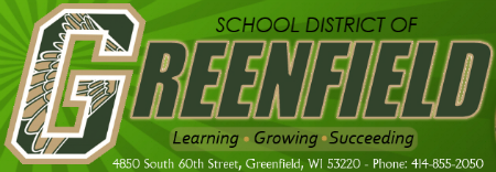 School District of Greenfield logo