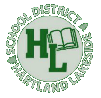 Hartland Lakeside School District  logo
