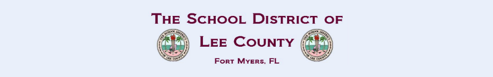 Lee County Public Schools logo