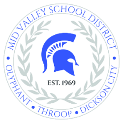 Mid Valley School District  logo