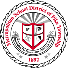 MSD of Pike Township logo