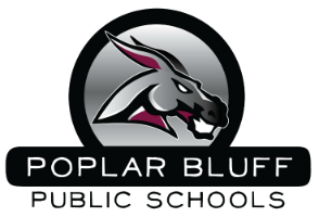 Poplar Bluff School District logo