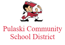 Pulaski Community School District logo
