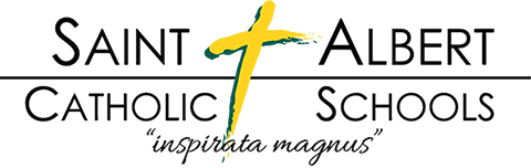 Saint Albert Catholic Schools logo