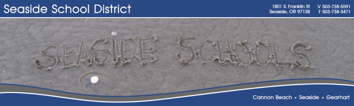 Seaside School District logo