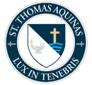 St. Thomas Aquinas High School logo