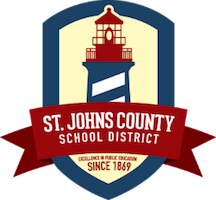 St. Johns County School District logo