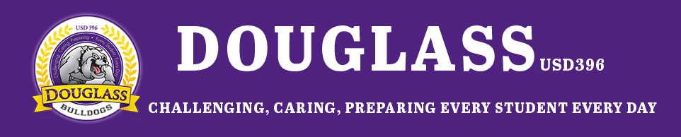 Douglass Unified School District 396 logo