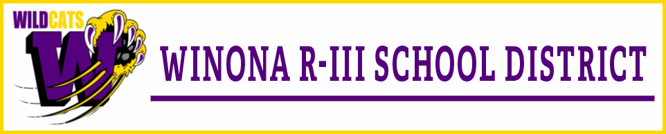 Winona R-3 School District logo