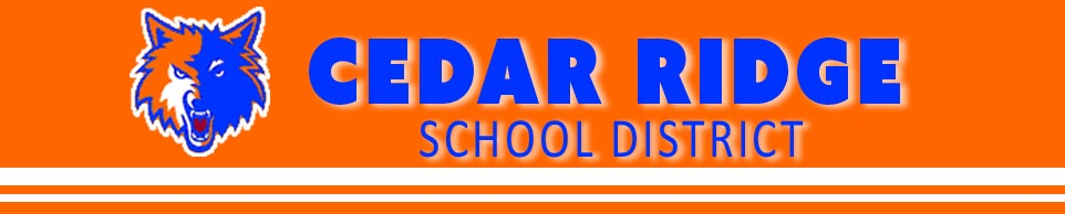 Cedar Ridge School District logo