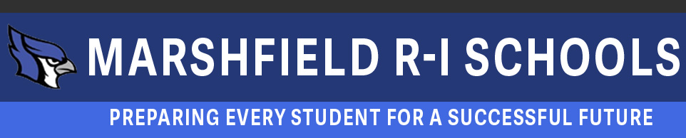 Marshfield R-1 School District logo