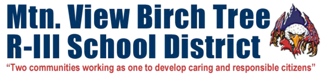 Mountain View-Birch Tree RIII School District logo